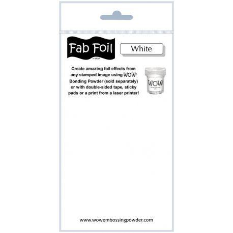Fabulous Foil - Snowy White