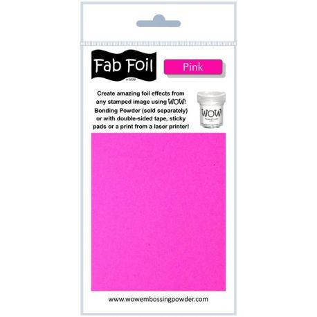 Fabulous Foil - Pink