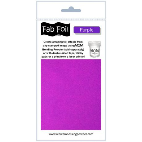 Fabulous Foil - Purple