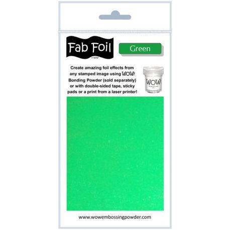 Fabulous Foil - Green