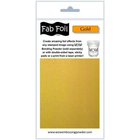 Fabulous Foil - Bright Gold