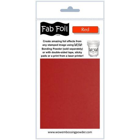 Fabulous Foil - Red