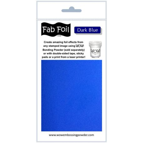 Fabulous Foil - Dark Blue