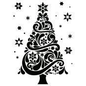 Embossing Folder - Árbol de Navidad