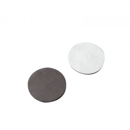 Discos magnéticos autoadhesivos