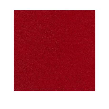 Fieltro 1 mm Glitter Rojo
