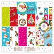 Love Santa 15x15 Paper Pad