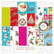 Love Santa 30x30 Paper Pad