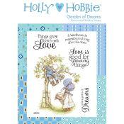 Sello caucho Holly Hobbie - Garden of Dreams