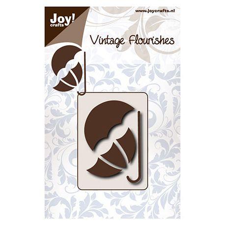 Troquel Vintage Flourishes - Paraguas
