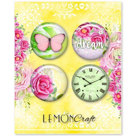 LemonCraft - Set de chapas adhesivas Fresh Summer (LD-FS01)