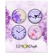 LemonCraft - Set de chapas adhesivas Violet Silence (LD-VS01)