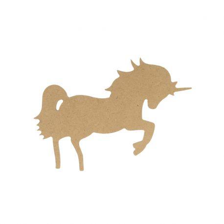 Artemio silueta MDF Unicornio Mediana (14002640)