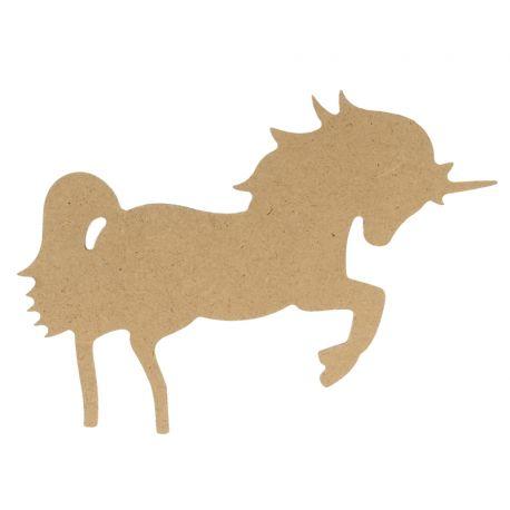 Artemio silueta MDF Unicornio Grande (14002641)