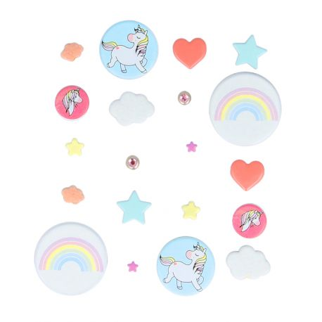 Artemio Rainbow - Brads decorativos (110060584)