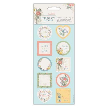 Papermania Freshly Cut Flowers - Pegatinas PMA 157277