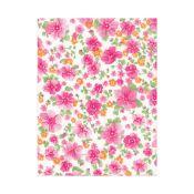 Tela precortada estampada 100% algodón - Floral