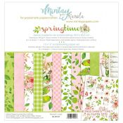 Mintay Papers - Springtime Scrapbooking Paper Pad 30x30