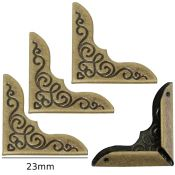 Esquinera 23mm bronce antiguo decor