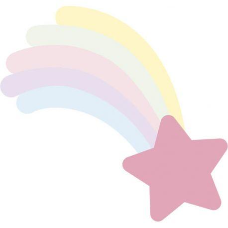 Artemio Colección Rainbow Troquel Metálico Estrella Fugaz 18050070