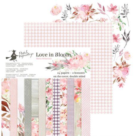 Piatek Trzynastego - Love in Bloom Paper Pad 15x15