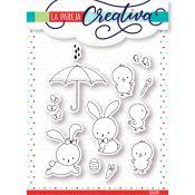 La Pareja Creativa - Set de sellos Llega la Primavera