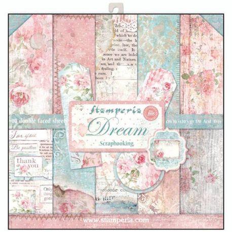 Stamperia Papeles estampados para scrapbooking colección Dream (SBBL27 )
