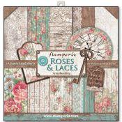 Stamperia Papeles estampados para scrapbooking colección Roses & Laces (SBBL25)