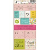 Piatek 13 - Little Girl Pegatinas (P13-163)