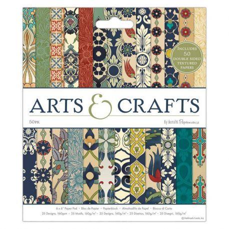 Papermania Arts & Crafts - Paper Pad 15x15 (PMA 1602670)