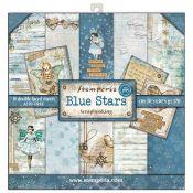 Stamperia Papeles estampados para scrapbooking colección Blue Stars (SBBL35)