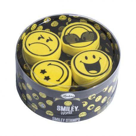 Aladine Stampo Scrap Set Smiley - sellos de caucho