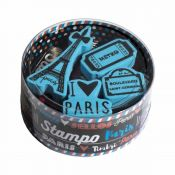 Aladine Stampo Scrap Set Paris - sellos de caucho
