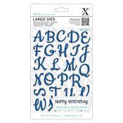 Xcut Troqueles Alfabeto Script mayúsculas (XCU 504081)