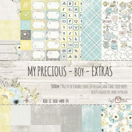 Craft O'Clock My Precious Boy - Extras