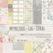 Craft O'Clock My Precious Girl - Extras