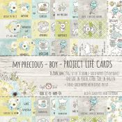 Craft O'Clock My Precious Boy - Tarjetas para Project Life