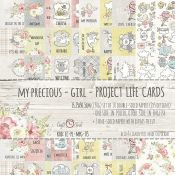 Craft O'Clock My Precious Girl - Tarjetas para Project Life