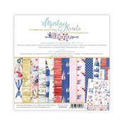 Mintay Papers - Marina Scrapbooking Paper Pad 15x15 | CreActividades