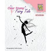 Sello acrílico Hada Nellie's choice - Fairy Tale 12 (FTCS014)