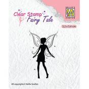 Sello acrílico Hada Nellie's choice - Fairy Tale 13 (FTCS015)