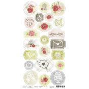 Craft O'Clock Always Together - Troquelados de cartulina