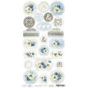 Craft O'Clock Ladies & Gentlemen - Troquelados de cartulina
