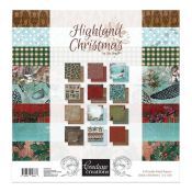 Couture Creation - Highland Christmas Paper Pad 30x30 (CO726272)