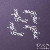 Laser Cut - Set Flores y Ramitas
