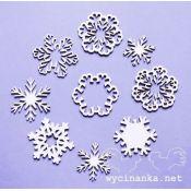 Laser Cut - Set copos de Nieve Clásicos