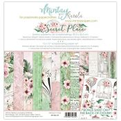 Mintay Papers - Secret Place Scrapbooking Paper Pad 30x30 | CreActividades