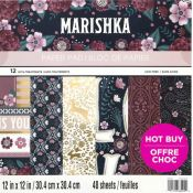 Bloc de cartulinas scrapbooking Craft Smith - Marishka (MPP0385)