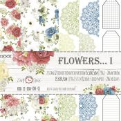 Craft O'Clock - Recortables Flowers Set de 15x30