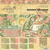 Graphic 45 Garden Goddess Scrapbooking Collection Pack